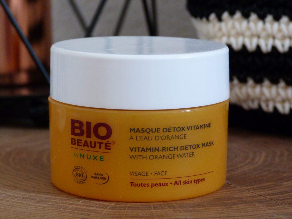 con-fession bio beauté détox nuxe masque vitamine easyparapharmacie