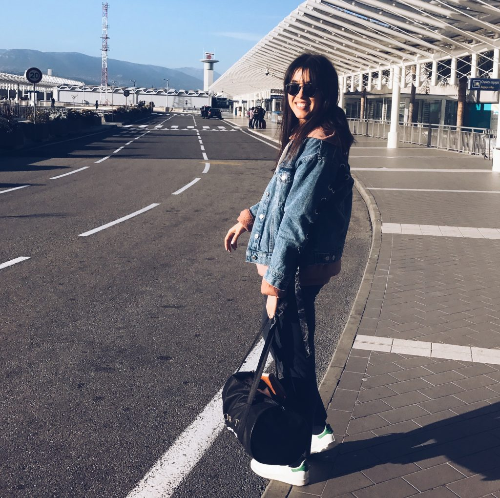 travel look outfit
