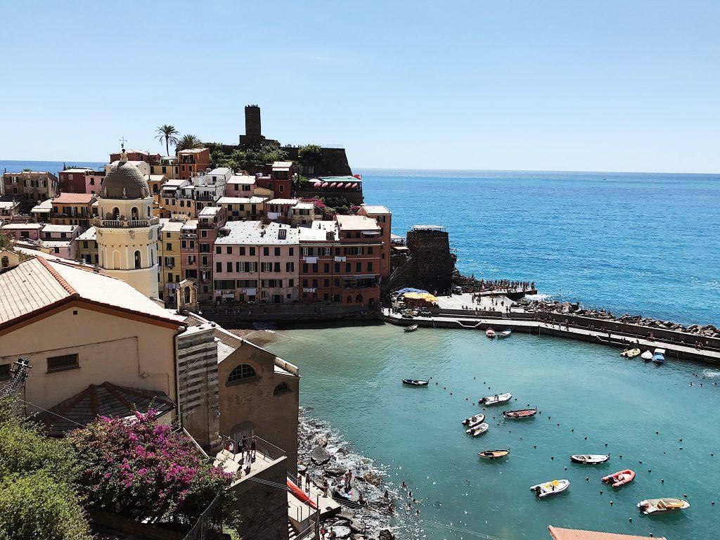 Vernazza, Cinque Terre, Road trip